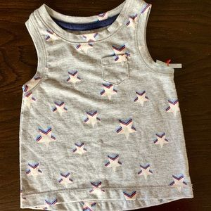 Cat&Jack 12 month 4th of July tops